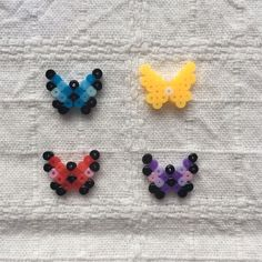 Melt Beads Patterns, Easy Perler Bead Patterns, Perler Bead Templates, Beading Patterns, Hamma Beads 3d, Hamma Beads Ideas, Fuse Beads, Perler Bead Disney, Diy Perler Beads