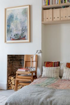 My Modern House: food writer Mina Holland on refurbishing a first home Home Bedroom, Bedroom Furniture, Bedroom Decor, Bedrooms, Childs Bedroom, First Home, Cheap Home Decor, Home Decor Accessories, Sweet Home