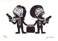 Pulp Fiction Sugar Skulls :)