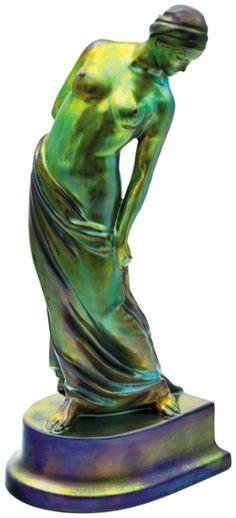 Sculpture Art, Sculptures, Art Nouveau Design, 10 Picture, Global Art, Fairy Land, Tile Art, Ceramic Artists, Aurora Borealis