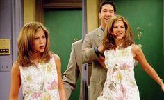 Rachel Green Style, Rachel Green Friends, Ross And Rachel, 90s Outfit, Friend Outfits, Friends Tv Show, Jennifer Aniston, Friends Forever, 90s Fashion