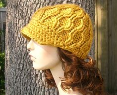 Ravelry: The Amsterdam Beanie with & without Visor pattern by Diane Serviss