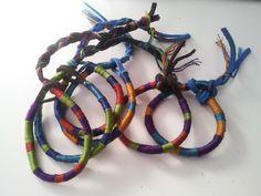 DIY Wrap Tribal Bracelets