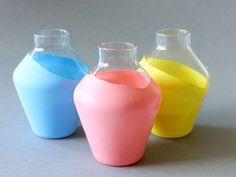 Tutoriel DIY: Comment décorer un vase avec un ballon via DaWanda.com
