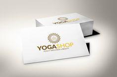 Yoga Workshop Logo by 1studio on @creativemarket