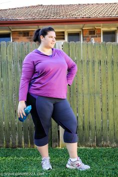 b75745d0f64 Aussie Curves Plus Size Fitness Exercise TS14 Plus Taking Shape Activewear  Workout  PSPFIT Plus Size