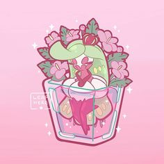 Tsareena: Flower in Vase 🌺🌴