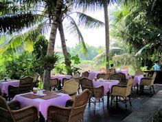 One of the many amazing restaurants next to the Mekong River in Luang Prabang, Laos. Click for an article about how AMAZING the food there is!