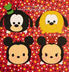 A personal favorite from my Etsy shop https://www.etsy.com/listing/262651375/premade-tsum-tsum-disney-collection