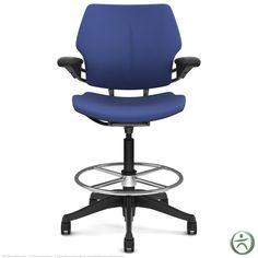 The Humanscale Freedom Drafting Chair offers the extreme comfort and style of the Humanscale Freedom Chair in a taller height range. Humanscale Freedom Drafting Chairs feature an intelligent, counter-balance reclining system that eliminates the need for knobs and levers while providing exactly the right amount of support and freedom of movement.