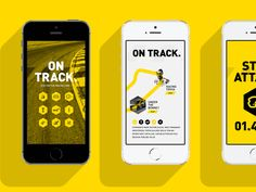 Motorsport App Design Project | Mobile App #UI Design