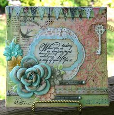 Inspiration Journal » Blog Archive » Guest Post: Pam Hooten & May Monthly Challenge