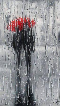 I love red umbrella pictures!