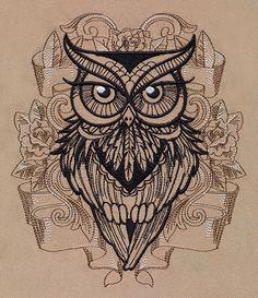 mandala owl tattoo - Szukaj w Google