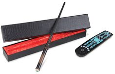 A magic wand remote. I am only halfway through the third Harry Potter book, but I'm already enough of a dork to want this.