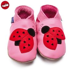 Inch Blue  slipper, Baby Mädchen Krabbelschuhe & Puschen pink Rose Pink 3-4 Monate (*Partner-Link)