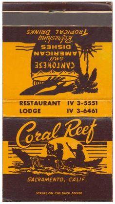Coral Reef - Sacramento CA -- Tiki Central