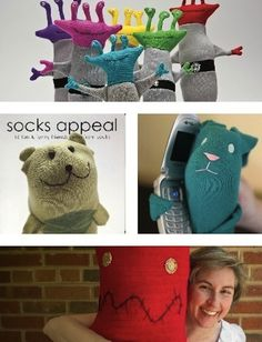 Sock Craft Ideas