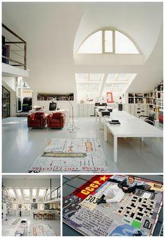 Office by Swedish architect & designerCarouschka Streijffert. Stockholm