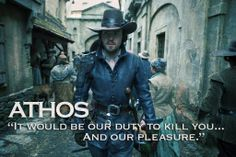 And incidentally, our pleasure - Athos