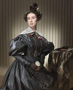 1830er Kleid von The School of Historical Dress