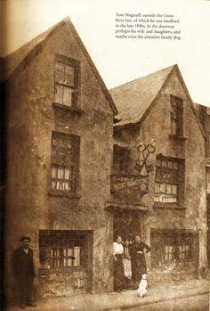 Cross Keys, St Mary Street Victorian London, Victorian Era, Swansea Bay, Welsh Words, Cardiff City, Fall River, Cymru, South Wales, British Isles