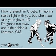 Alright, three days till the puck drops - time to start mocking Crosby again.