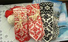 Norwegian Christmas Mittens.