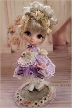 Blythe * Snowdrop * Custom Midi Bryce verM # 79 Admin - Auction - Rinkya! Japan Auction & Shopping