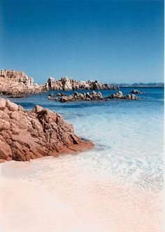 The sea at La Maddalena - Budelli Island Sardinia, Italy Italy Vacation, Vacation Spots, Italy Travel, The Places Youll Go, Places To See, Places To Travel, Travel Destinations, Photos Voyages, Dream Vacations