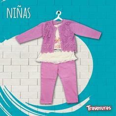 ¡Nuestra nueva colección llenará de COLOR el armario de tus chiquitines! Encuentra más información en: www.travesuras.com.co