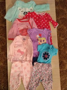 Baby & Toddler Clothing Nwt Baby Gap Infant Girls Pajama Set Size 6-12 Months Seahorse Purple Blue Sleepwear