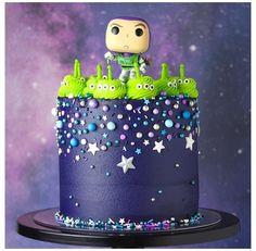 Fête Toy Story, Toy Story Theme, Toy Story Party, Bolos Toy Story, Toy Story Birthday Cake, 2nd Birthday, Birthday Ideas, Alien Cake, Toy Story Cupcakes
