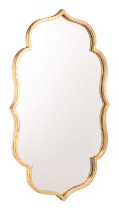 Buy the Zuo Modern Gold Direct. Shop for the Zuo Modern Gold Isa 32 Inch x 20 Inch Specialty Flat Steel Framed Wall Mounted Standard Mirror and save. Gold Mirror Bathroom, Gold Framed Mirror, Gold Mirrors, Wall Mirror, Master Bathroom, Bathroom Fixtures, Framed Wall, Small Bathroom, Spiegel Gold