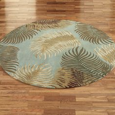 Fern View Round Rugs will remind you of the beauty of the forest floor. Tropical round rugs, thick, are hand-tufted from multi-textured wool with. Tropical Area Rugs, Tropical Decor, Forest Floor, Burke Decor, Round Rugs, Ferns, Decorative Bowls, Home And Garden, Decorating Ideas
