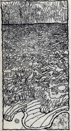 Galerie Lelong - Estampes - Pierre AlechinskyMouvement couvrant 1980 Gravure 170 x 91 cm