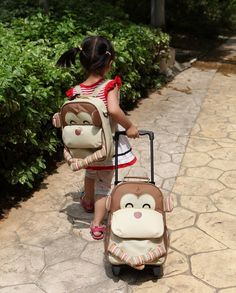 Amazon.com: Yodo 3-Way Playful Kids Girls' Insulated Lunch Boxes Carry Bag and Preshool Toddler Backpack, Pink Owl: Baby