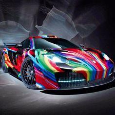 McLaren artwork