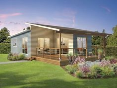 Modern Tiny House Design Ideas - Page 3 of 46 Tyni House, Rest House, House Roof, Modern Small House Design, Tiny House Design, House Design Pictures, Casa Patio, Bungalow House Design, Small House Plans