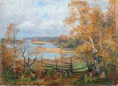 Art and Salt Finland, Denmark, Norway, Oil On Canvas, Autumn, Wallpaper, Painting, Salt, Artists