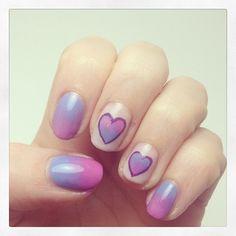 VALENTINE kellyohstein #nail #nails #nailart