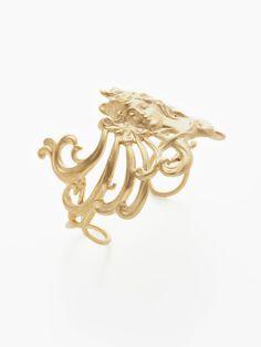 Elsa Gold Cuff by Eddera on Gilt.com