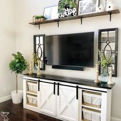 home decoration detail are offered on our internet site. look at this and you wont be sorry you did. Farmhouse Decor Living Room, Living Room Tv, Apartment Living Room, Living Decor, Rustic Chic Living Room, Room Decor, Home Decor, Farm House Living Room, Home Living Room