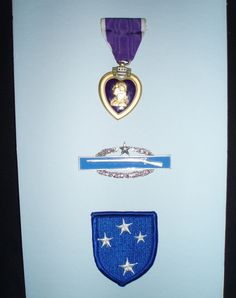Vietnam American Infantry badge patch Purple Heart medal FREE SHIP  $98.00 OBO