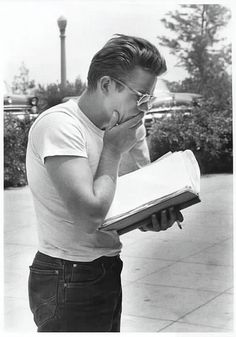 James Dean in his Lee Jeans