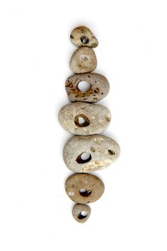 stones with holes (mary jo hoffman)