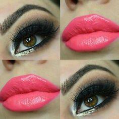 Color labios y ojos