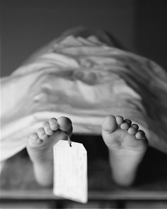 Image result for toe tag morgue