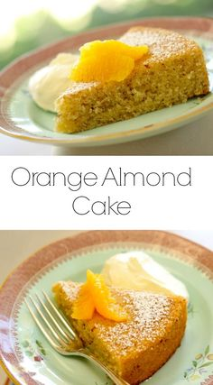 Learn how to make my Orange Almond Cake recipe a perfect springtime dessert idea. Easy and delicious and SO light and moist. Easy Birthday Cake Recipes, Easy Cake Recipes, Dessert Recipes, Tea Cakes, Cupcake Cakes, Sugee Cake, Cupcakes, Spring Recipes, Easter Recipes
