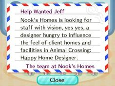 Pete handed me an ad for Happy Home Designer.